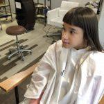 子供の髪を切りにfamille(ファミーユ)に行ってきました。