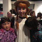 『赤毛のアン』のミュージカル見にいきました。