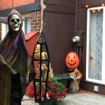ご近所さんのハロウィーンの飾り付け